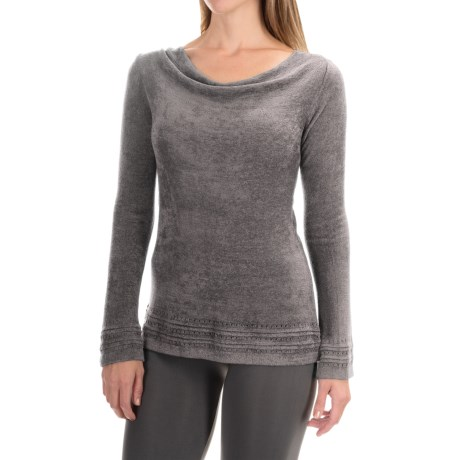 Royal Robbins Voyage Sweater - Cowl Neck  (For Women) in Pewter