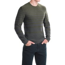 Royal Robbins Voyager Stripe Sweater (For Men) in Dark Galaxy Grey - Closeouts