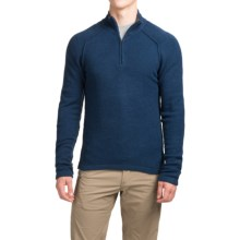 Royal Robbins Voyager Sweater - Zip Neck (For Men) in Deep Blue Moon - Closeouts
