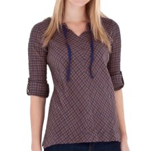 Royal Robbins Wasatch Plaid Pullover Shirt - Long Sleeve (For Women) in Dark Lavender - Closeouts