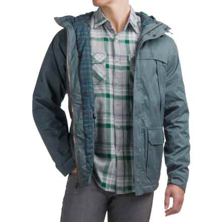 Royal Robbins Waxed-Twill Field Parka - UPF 50+, Insulated (For Men) in Lagoon - Closeouts