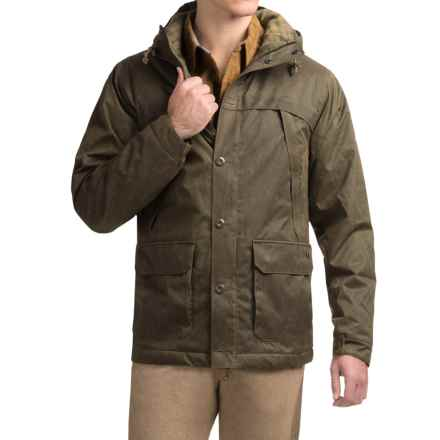 Royal Robbins Waxed-Twill Field Parka - UPF 50+, Insulated (For Men) in Mangrove Green - Closeouts