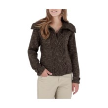 Royal Robbins Whistler Cardigan Sweater (For Women) in Mocha - Closeouts