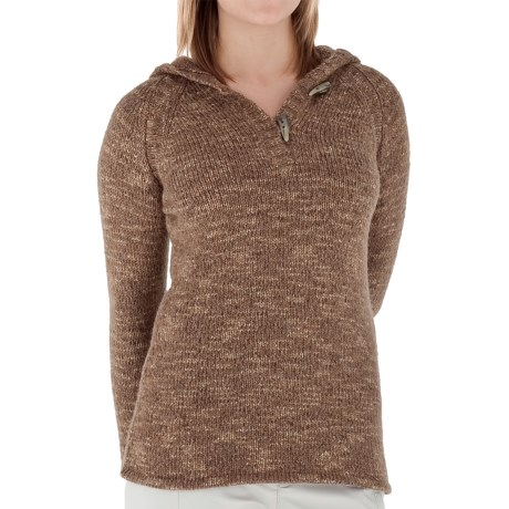 Royal Robbins Whistler Sweater - Hooded (For Women) in Burro