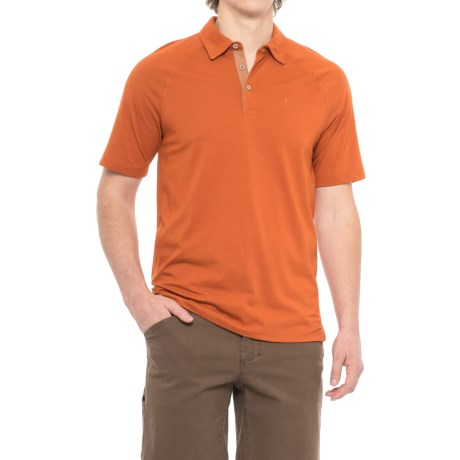 Royal Robbins Wick-Ed Cool Polo Shirt - UPF 35+, Short Sleeve (For Men) in Cordwood