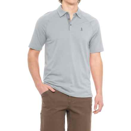 Royal Robbins Wick-Ed Cool Polo Shirt - UPF 35+, Short Sleeve (For Men) in Moon - Closeouts