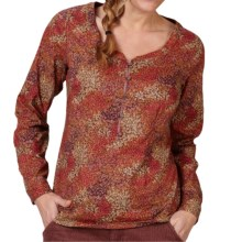 Royal Robbins Wildflower Shirt - Long Sleeve (For Women) in Dark Cranberry - Closeouts