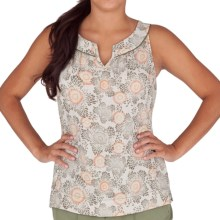 Royal Robbins Wildflower Tank Top - Organic Cotton, Recycled Materials (For Women) in Aloe - Closeouts