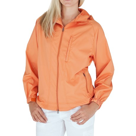 Royal Robbins Windjammer Jacket - UPF 40+ (For Women) in Dark Cantaloup