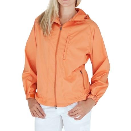 Royal Robbins Windjammer Jacket - UPF 40+ (For Women) in Dark Cantaloup