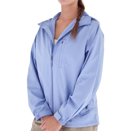 Royal Robbins Windjammer Jacket - UPF 40+ (For Women) in Salvia Blue