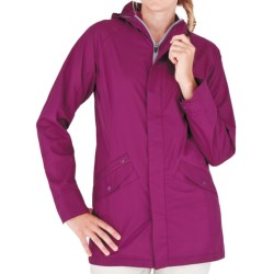 Royal Robbins Windjammer Traveler Coat - UPF 50+, DWR (For Women) in Dark Berry