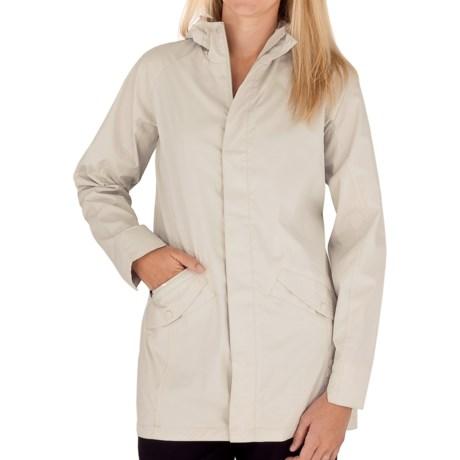 Royal Robbins Windjammer Traveler Coat - UPF 50+, DWR (For Women) in Light Khaki