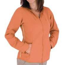 Royal Robbins Windsong Hooded Shirt Jacket - UPF 50+ (For Women) in Spice - Closeouts