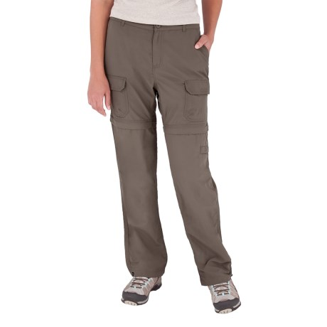 Royal Robbins Zip-'n-Go Convertible Pants - UPF 50+, Supplex® Nylon (For Women) in Bark