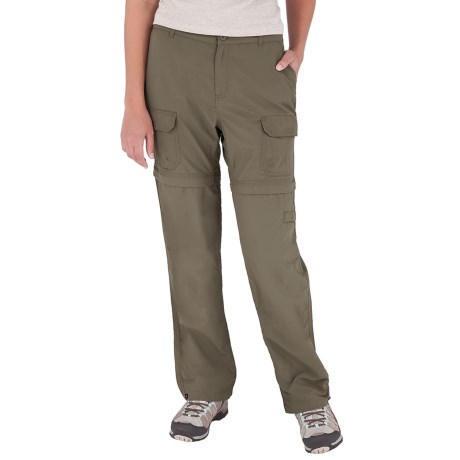 Royal Robbins Zip-'n-Go Convertible Pants - UPF 50+, Supplex® Nylon (For Women) in Everglade