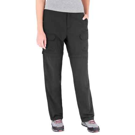 Royal Robbins Zip-'n-Go Convertible Pants - UPF 50+, Supplex® Nylon (For Women) in Jet Black - Closeouts