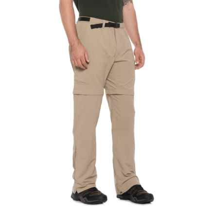 Royal Robbins Zip-N-Go Convertible Nylon Pants - UPF 50+ (For Men) in Khaki - Closeouts