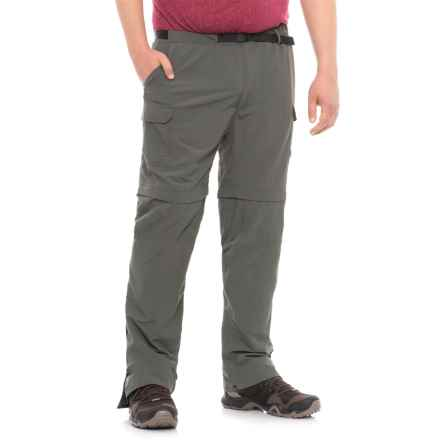 Royal Robbins Zip-N-Go Convertible Nylon Pants - UPF 50+ (For Men) in Obsidian - Closeouts