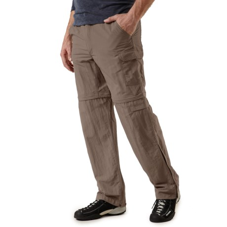 Royal Robbins Zip N' Go Convertible Pants - UPF 50+, Supplex® Nylon (For Men) in Taupe