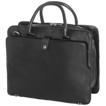 """Royce Leather 15"""" Executive Laptop Briefcase in Black - Closeouts"""