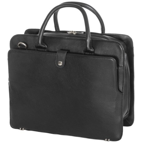 Royce Leather 15 Executive Laptop Briefcase