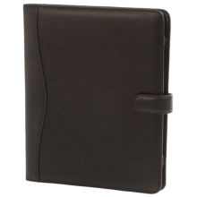 Royce Leather Executive iPad® Case - Leather in Black - Closeouts