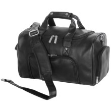 Royce Leather Lightweight Travel Sports Duffel Bag in Black - Closeouts