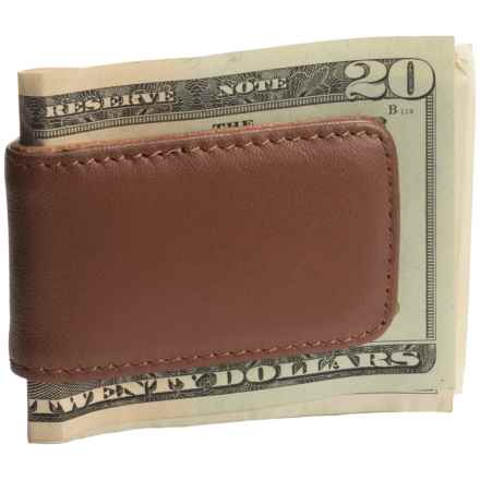 Royce Leather Magnetic Money Clip in Tan - Closeouts