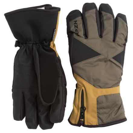 RPZN Slimline Thinsulate® Gloves - Waterproof, Insulated (For Men) in Combat/Black/Harvest - Closeouts