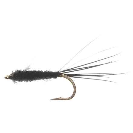 RS2's Nymph Fly - Dozen in Black - Closeouts