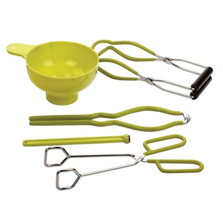 RSVP International Canning Kit - 5-Piece in Yellow
