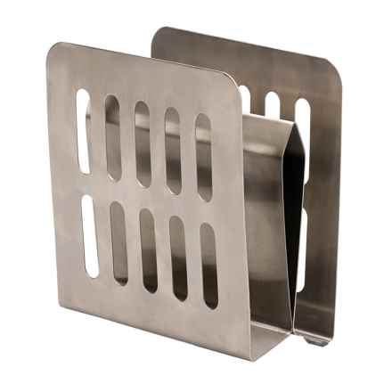 RSVP International Endurance Stand It Up Napkin Holder in Stainless Steel - Closeouts