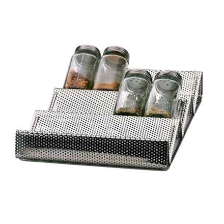 RSVP International In-Drawer Spice Rack in Stainless Steel - Overstock