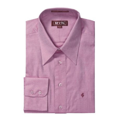 rtk shirts royal oxford dress shirt cotton point collar