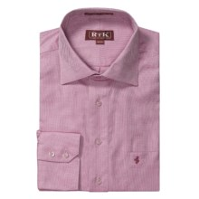 RTK Shirts Royal Oxford Dress Shirt - English Spread Collar, Long Sleeve (For Men) in Pink/White - Closeouts