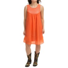 RU Apparel Brianna Dress - Sleeveless (For Women) in Orange - Closeouts