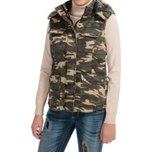 RU Apparel Camo Vest (For Women) in Camo - Closeouts