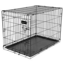 "Ruff Maxx Wire Dog Kennel - 30x21x24"" in Black - Closeouts"