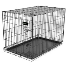 "Ruff Maxx Wire Dog Kennel - 36x24x27"" in Black - Closeouts"