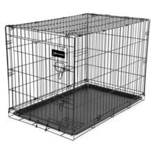 "Ruff Maxx Wire Dog Kennel - 42x28x31"" in Black - Closeouts"
