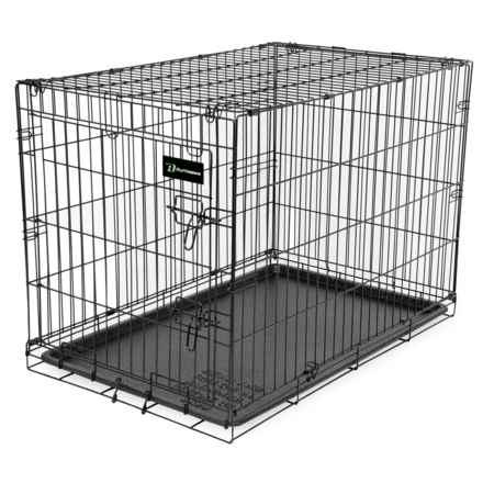 "Ruff Maxx Wire Dog Kennel - 48x28x31"" in Black - Closeouts"