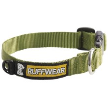 Ruff Wear Hoopie Dog Collar in Forest Green - Closeouts