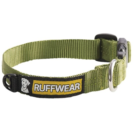 Ruff Wear Hoopie Dog Collar in Forest Green