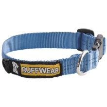 Ruff Wear Hoopie Dog Collar in Glacier Blue - Closeouts