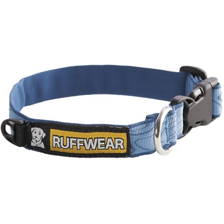 Ruff Wear Hoopie Dog Collar in Topo