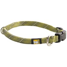 Ruff Wear Knot-A-Just Dog Collar in Green - Closeouts