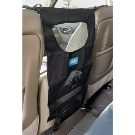 Ruffin' It Car Seat Barrier in Black