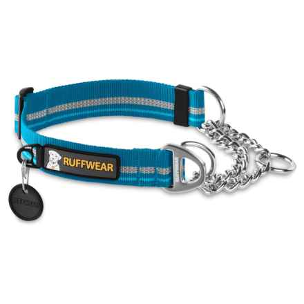 Ruffwear Chain Reaction Dog Collar in Metolius Blue - Closeouts