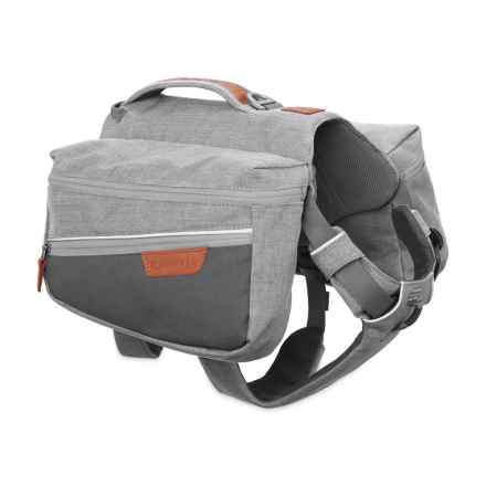 Ruffwear Commuter Dog Pack in Cloudburst Gray - Closeouts